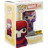 Funko Marvel Pop! Magneto Metallic Vinyl Bobble-Head Hot Topic Exclusive