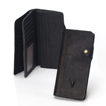 Men Leather Handcrafts Vintage Casual Wallet [9026230979]