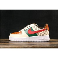 Gucci x Nike Air Force 1 AF1 Low Fashion Sneakers
