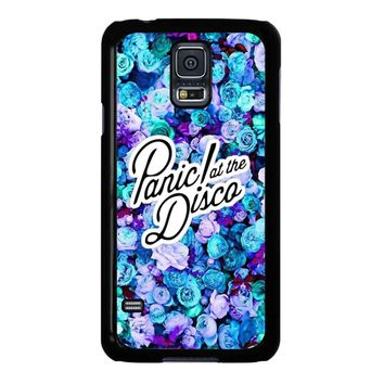 Panic At The Disco Flower Samsung Galaxy S5 Case