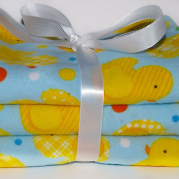 Flannel baby burp cloths baby boy  gender neutral baby girl burp rag spit rag new baby gift duck burp cloth unisex burpcloth burping infant
