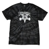 Thrasher Skategoat Spyder Dye T-Shirt - Men's at CCS