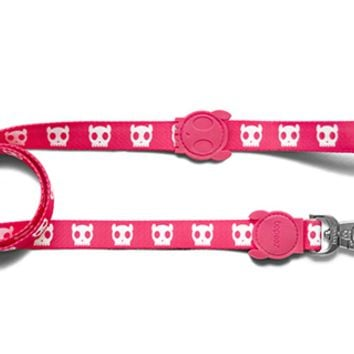 Pink Skull | Dog Leash