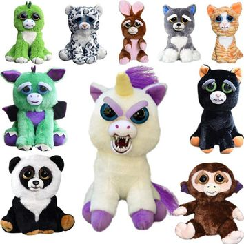 Funny Feisty Pets Plush Toys with Changing Faces