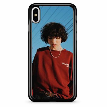 Finn Wolfhard 5 iPhone X Case