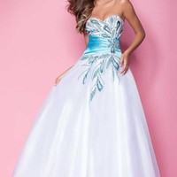 Blush 5207 at Prom Dress Shop