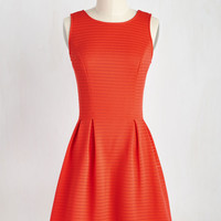 Game, Set, Matchless Dress in Poppy | Mod Retro Vintage Dresses | ModCloth.com