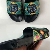 VERSACE men and women Casual and casual slippers