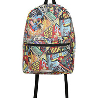 Marvel Comics Collage Backpack   Hot Topic