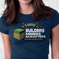 Been Around the Block - Minecraft Shirt. 100% Cotton. Mens, womens and kids sizes. A funny minecraft t-shirt for all the crafters.