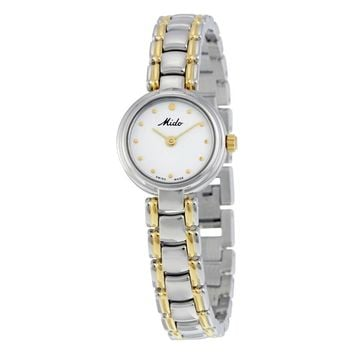 Mido Romantique White Dial Ladies Watch M2132.9.16.1
