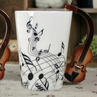 Violin Mug Coffee Mug