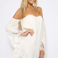 Vanilla Dream Dress - White