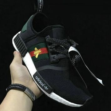 ADIDAS x GUCCI NMD Women Breathable Running Sneakers Sport Shoes