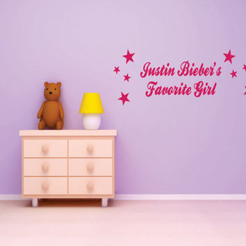 Justin Bieber Decals  Stickers by designwithvinyl on Etsy