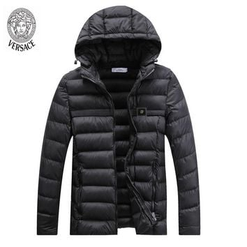 Boys & Men Versace Fashion Casual Cardigan Jacket Coat