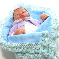 Baby Blanket Crochet Gender Neutral