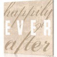 Personalized Canvas Wall Art, Happily Ever After