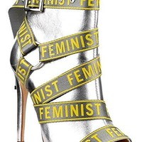 Amy Silver Feminist Booties