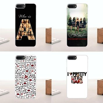 For Huawei G7 G8 Honor 5A 5C 5X 6 6X 7 8 V8 Mate 8 9 P7 P8 P9 P10 Lite Plus TPU Design Pencer Hannah Aria Pretty Little Liar