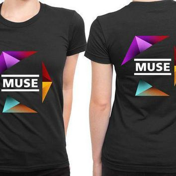 Muse Undisclosed Cutter 2 Sided Womens T Shirt