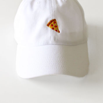 Pizza Cap - White