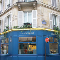 Paris France Cute Crepe Restaurant  Fine Art Photography Print
