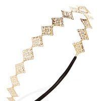 FOREVER 21 Filigree Headband Gold One