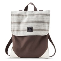 Faribault for Target Wool and Canvas Convertible Backpack - Prairie Stripe