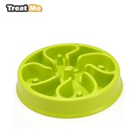 Pet Dog Bowl Slow Eating Pet Bowl Healthy Prevent Choking Gluttony Obesity Puzzle Feeder cama perro honden Cuenco para perros