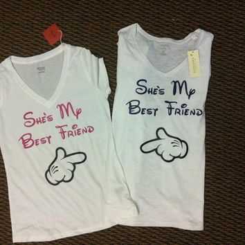 She's My Best Friend Shirt