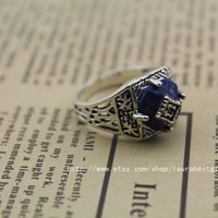 the Vampire Diaries ring Caroline ring antique jewelry steampunk gift
