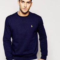 Polo Ralph Lauren | Polo Ralph Lauren Sweatshirt with Polo Player Logo at ASOS