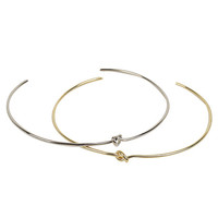 Knot Center Metal Necklace | STYLENANDA