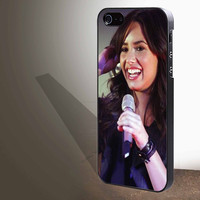 "DEMI LOVATO Singing for iphone 4/4s/5/5s/5c/6/6+, Samsung S3/S4/S5/S6, iPad 2/3/4/Air/Mini, iPod 4/5, Samsung Note 3/4 Case ""005"""