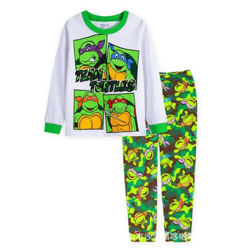 Teenage Mutant Ninja Turtles Children Pijamas Baby Boys Clothing Sets Kids Pajamas Sleepwear Sets Boys Pajama Pyjamas Retail
