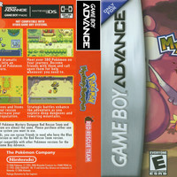Pokemon Mystery Dungeon: Red Rescue Team - Game Boy Advance (Ugly Game Only)