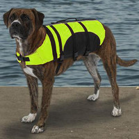 Guardian Gear Aquatic Pet Life Vest Preserver - Yellow at BaxterBoo