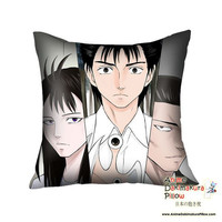 New Parasyte High Quality Anime Dakimakura Square Pillow Cover GZFONG32