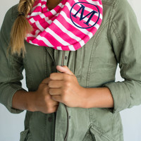 Kids' Hot Pink Infinity Scarf