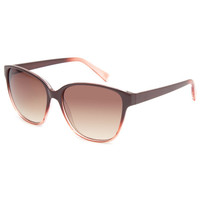 Full Tilt Fade Songlasses Brown/Coral One Size For Women 23734244901