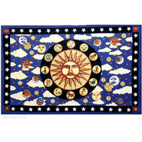 Psychedelic Zodiac Sun Tapestry on Sale for $24.95 at HippieShop.com