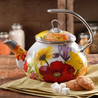 The Pioneer Woman Flower Garden Tea Kettle, 2.3 qt - Walmart.com