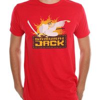 Samurai Jack Logo Slim-Fit T-Shirt