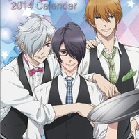 BROTHERS CONFLICT - 2014 Anime Calendar