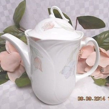 Royal Doulton China Dinnerware Fantasia Pattern #: H5192 Coffee Pot.