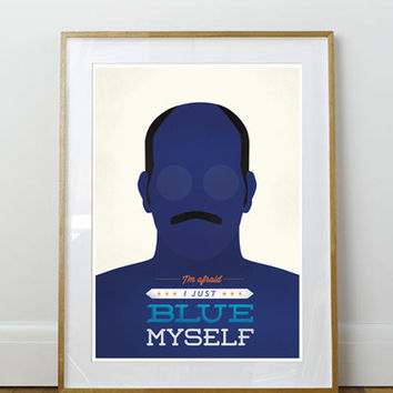 Arrested Development Tobias A3 or to fit Ikea Ribba Frame 390 x 290mm