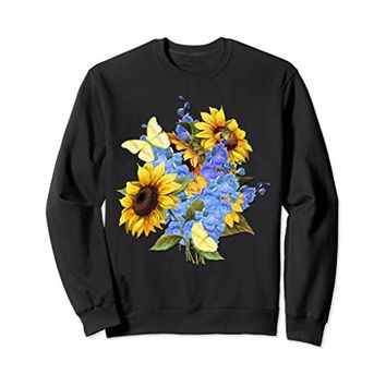 Sunflower Garden Bouquet Sweatshirt