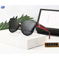GUCCI Fashionable Women Men Chic Sun Shades Eyeglasses Glasses Sunglasses 6#