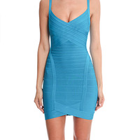 Herve Leger Kourtney Knit Dress